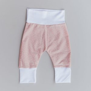 Hlačke za dojenčke – PINK POLKA DOT