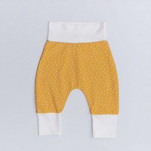 Hlačke za dojenčke – YELLOW POLKA DOT