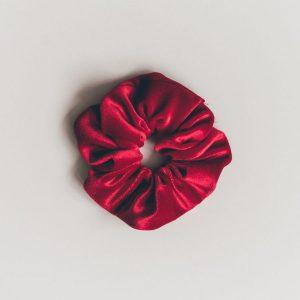 Scrunchie Lux Velvet Red